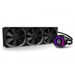 """NZXT vodní chladič Kraken Z73 / 3x 120mm fan / LGA 2066/2011(-3)/1366/1156/1155/1151/1150/AM4 / 2,36"""" LCD displej/ 6 let"""