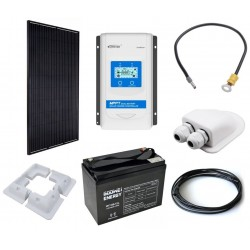 Solární nabíjení GWL/POWER OffGrid 400 pro karavany, 330Wp, 100Ah
