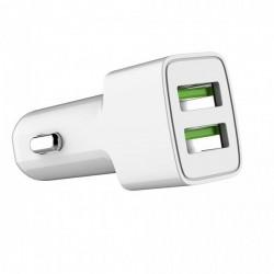 COLORWAY 2x USB nabíječka do auta 12W