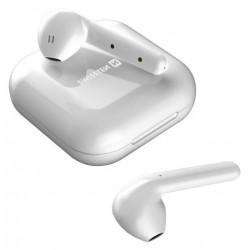 Swissten Flypods, bezdrátová sluchátka, bílá