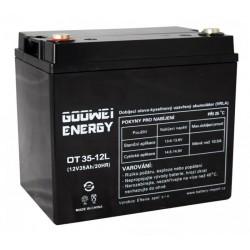 GOOWEI ENERGY Pb záložní akumulátor VRLA GEL 12V/35Ah (OTL35-12)