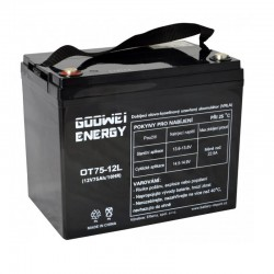 GOOWEI ENERGY Pb záložní akumulátor VRLA GEL 12V/75Ah (OTL75-12)