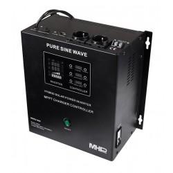 MHPower záložní zdroj MHPower MSKD-500, UPS, 500W, čistý sinus, 12V, solární regulátor MPPT