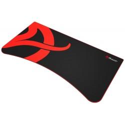 AROZZI ARENA Deskpad/ ochranná podložka na celý stůl Arena/ černá/ červený okraj/ písmeno A
