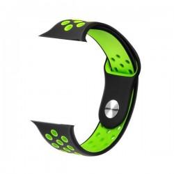 IMMAX řemínek pro chytré hodinky SW10/ SW13/ SW13 PRO/ Apple watch/ černo-zelený