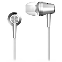 GENIUS headset HS-M360/ stříbrný/ 4pin 3,5 mm jack