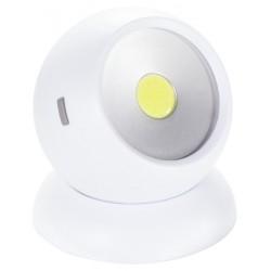 HAMA LED svítidlo Rotation 360/ 150 lumenů/ 3x AAA baterie/ bílá