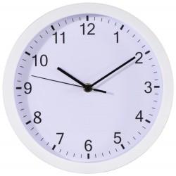 HAMA nástěnné hodiny Pure/ průměr 25 cm/ tichý chod/ 1x AA baterie/ bílé
