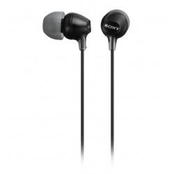 SONY sluchátka do uší MDREX15LPB/ drátová/ 3,5mm jack/ citlivost 100 dB/mW/ černá