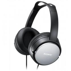 SONY sluchátka náhlavní MDRXD150B/ drátová/ 3,5mm jack/ citlivost 100 dB/mW/ černá
