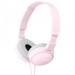 SONY sluchátka náhlavní MDRZX110/ drátová/ 3,5mm jack/ citlivost 98 dB/mW/ růžová