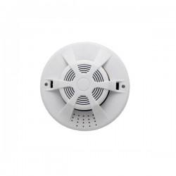 IGET Security P14 Bezdr. detektor kouře,použítí s alarmem nebo samostatně, vestavěná světelná a zvuková signaliz