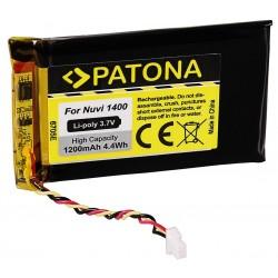 PATONA baterie pro GPS Garmin Nuvi 1400 1200mAh Li-Pol 3,7V Nuvi 1490