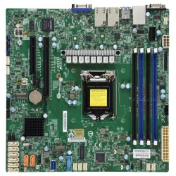 SUPERMICRO MBD-X11SCH-F-O / LGA1151 / C246 / 4x DDR4 DIMM / 8x SATA / 2x M.2 / 2x GLAN / IPMI