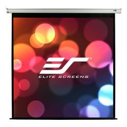 """ELITE SCREENS plátno elektrické motorové 99"""" (251,5 cm)/ 1:1/ 177,8 x 177,8 cm/ Gain 1,1/ case bílý"""