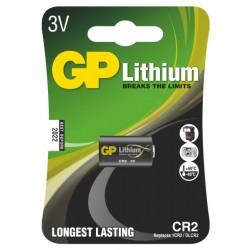 GP lithiová baterie 3V CR2 1ks blistr
