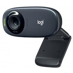 Logitech HD webkamera C310/ 1280x720/ 5MPx/ USB/ šedá