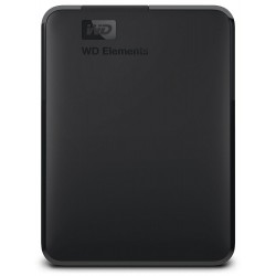 """WD HDD Elements Portable 2TB / Externí 2,5"""" / USB 3.0 / Černý"""