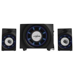HAMA uRage gamingový sound systém SoundZ Essential/ 2.1/ 20W/ čtečka SD karet/ BlueTooth/ 2x CINCH/ USB