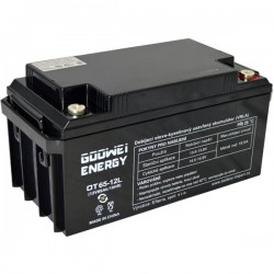 GOOWEI ENERGY Pb záložní akumulátor VRLA GEL 12V/65Ah (OTL65-12)