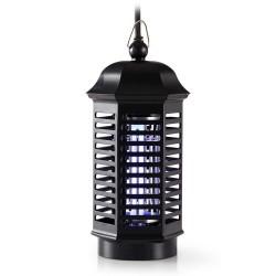 NEDIS světelná nástraha na hubení komárů/ výkon 4 W/ pokrytí 30 m2/ černá