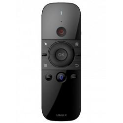 UMAX bezdrátový ovladač Air Mouse M1/ vestavěná klávesnice/ Lion baterie/ hlasová podpora/ USB/ Android/ W10/ Linux