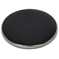 CRONO nabíječka XD001/ bezdrátová/ Qi technologie/ 10W/ 9V/1,64A, 5V/2A/ 9,6 x 9,6 x 0,7 cm/ černá