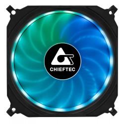 CHIEFTEC ventilátor Tornado / 120mm fan / RGB LED / ultratichý 16 dBa