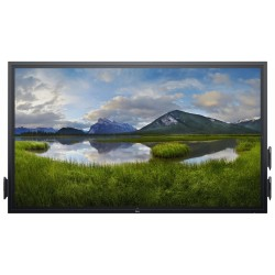 """DELL C7520QT/ 75"""" LED/ 16:9/ 3840x2160/ 1200:1/ 8ms/ 4K/ DP/ 3x HDMI/ VGA/ USB/ RJ45/ COM/ 3YNBD on-site"""