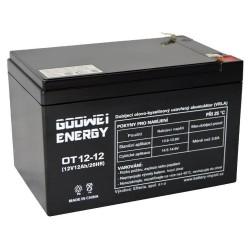 GOOWEI ENERGY Pb záložní akumulátor VRLA AGM 12V/12Ah (OT12-12)