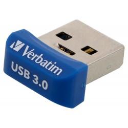 VERBATIM Flash disk Store 'n' Stay NANO/ 32GB/ USB 3.0/ modrá