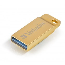 VERBATIM Flash disk Store 'n' Go Metal Executive/ 16GB/ USB 3.0/ zlatá