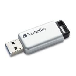 VERBATIM Flash disk Store 'n' Go Secure Pro/ 16GB/ USB 3.0/ AES 256-bit hardwarové šifrování/ stříbrná