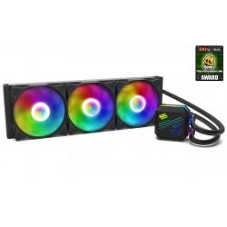SilentiumPC vodní chladič Navis EVO ARGB 360 AiO / 3x120mm fan / 22dBA / pro AM3, AM4, LGA 2066,2011,1155,1151,1156,1366