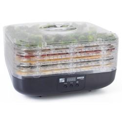 G21 sušička ovoce, zeleniny a hub Paradiso Cube/ 350W/ 6 plat/ 3kg/ černá