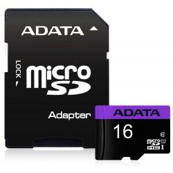 ADATA Premier 16GB microSDHC/ UHS-I CL10 + adaptér