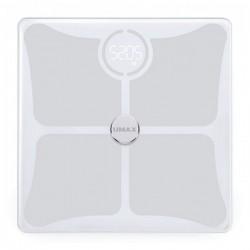 UMAX chytrá váha Smart Scale US10C/ 0,2 – 180 kg/ Bluetooth 4.0/ 14 tělesných parametrů/ čeština/ bílá