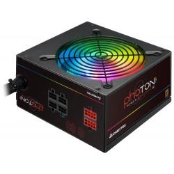 CHIEFTEC zdroj CTG-750C-RGB / Photon Series / 750W / 120mm fan / akt. PFC / modulární kabeláž / 80PLUS Bronze