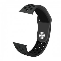 IMMAX řemínek pro chytré hodinky SW10/ SW13/ SW13 PRO/ Apple watch/ černý