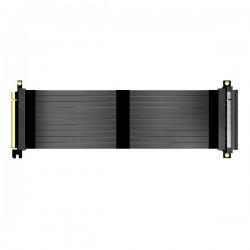 AKASA kabel pro VGA RISER BLACK X3 / AK-CBPE01-30B / PCIe 3.0 x16 / 30 cm / černý