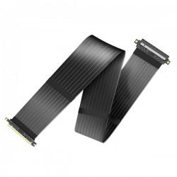 AKASA kabel pro VGA RISER BLACK XL / AK-CBPE01-100B / PCIe 3.0 x16 / 100 cm / černý