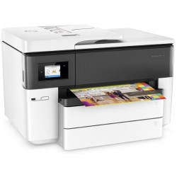 HP OfficeJet Pro 7740 AiO Wide/ A3+/ 22/18ppm/ USB/ LAN/ Wifi / Fax / Duplex/ DADF, touch LCD