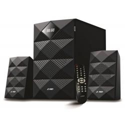 FENDA F&D repro A180X/ 2.1/ 42W/ černé/ BT4.0/ FM rádio/ USB přehrávání/ dálkový ovladač