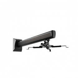 SUNNE by Elite Screens nástěnný držák pro projektory/ černý/ vzdálenost od zdi 225-750mm