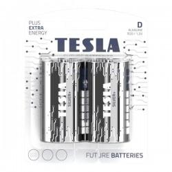 TESLA SILVER+ alkalická baterie D (LR20, velký monočlánek, blister) 2 ks
