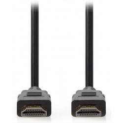NEDIS Ultra High Speed HDMI 2.1 kabel/ konektory HDMI - HDMI/ 8K@60Hz/ černý/ 1m