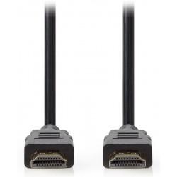 NEDIS Ultra High Speed HDMI 2.1 kabel/ konektory HDMI - HDMI/ 8K@60Hz/ černý/ 2m