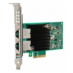 DELL Intel X550 DP/ 10 GbE/ 2-portová síťová karta/ 10 gigabit/ PCIe/ 10Gbase-T/ RJ45