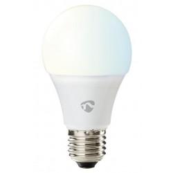 NEDIS Wi-Fi chytrá LED žárovka/ E27/ 9W/ 230V/ 800lm/ 6500K/ teplá až studená bílá/ stmívatelná