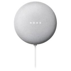Google hlasový asistent Nest Mini chalk/ 2. generace/ Google Assistant/ Wi-Fi/ Bluetooth/ CZ adaptér/ šedý